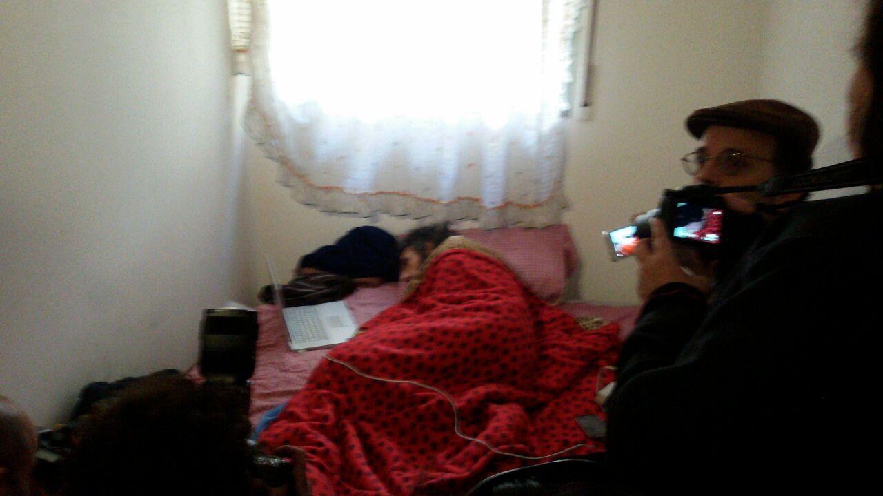 Jihad Diyab fue internado en una sala reservada en el Hospital de Clínicas