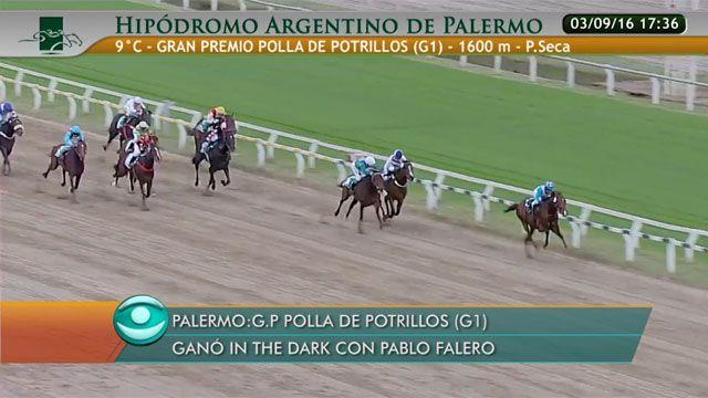 Pablo Falero e In The Dark se lucieron en La Polla de Potrillos