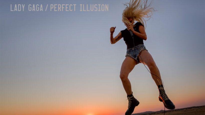 Lady Gaga presenta su nuevo single, Perfect Illusion