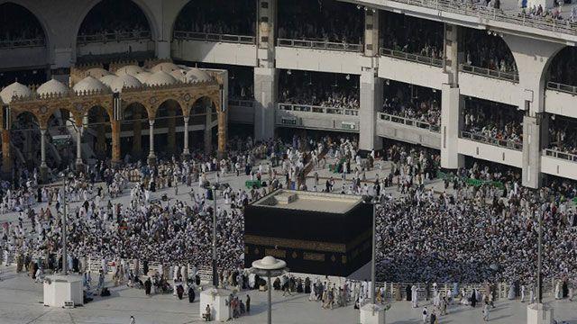 Casi dos millones de fieles en La Meca para la perigrinación anual