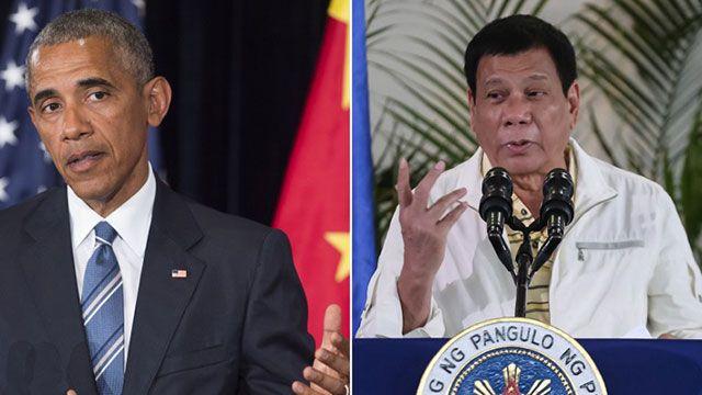 El presidente de Filipinas, conocido como El Castigador, insultó a Obama