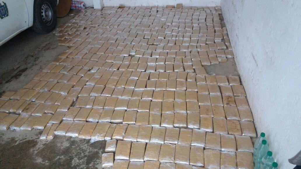 Paraguayo detenido con 248 kilos de marihuana en ruta 8 de Lavalleja