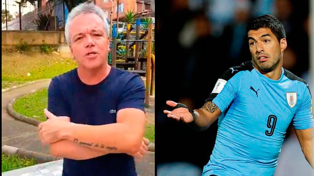 Exsicario del narcotráfico le envía saludos a Luis Suárez y Edinson Cavani