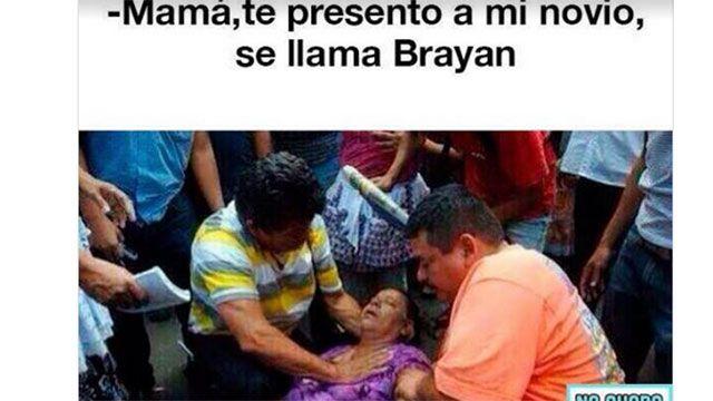 Campaña mexicana para no registrar hijos con el nombre Bryan y variantes