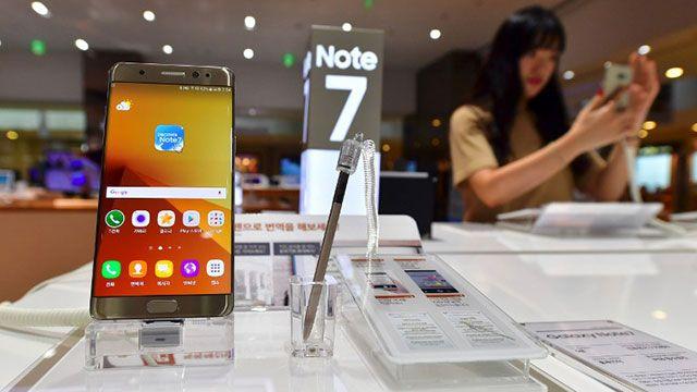Samsung suspende las ventas del Note 7: explotan las baterías