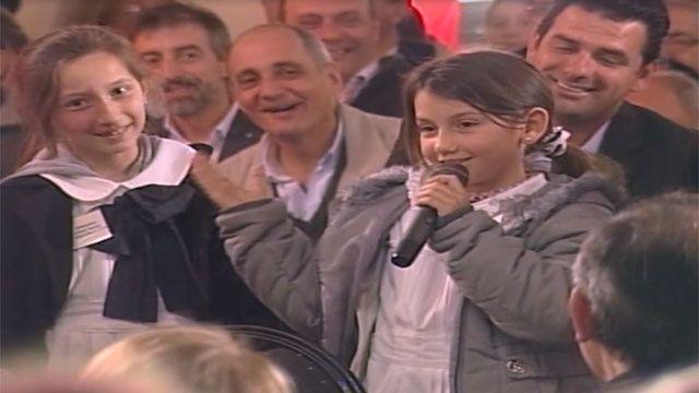 Otra vez los niños fueron grandes protagonistas del Consejo de Ministros