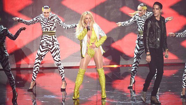 Britney Spears decepcionó con su show en los premios MTV