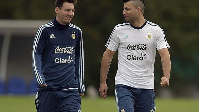 Sin Kun y con Messi en duda, Argentina ante Uruguay el jueves a las 20.30