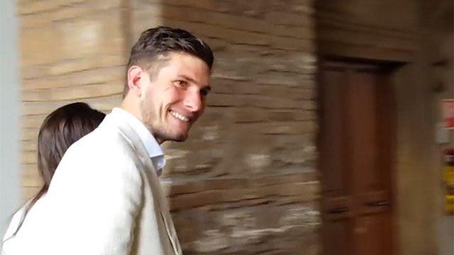 Futbolista Felipe Avenatti contó cómo tembló su edificio en sismo de Italia