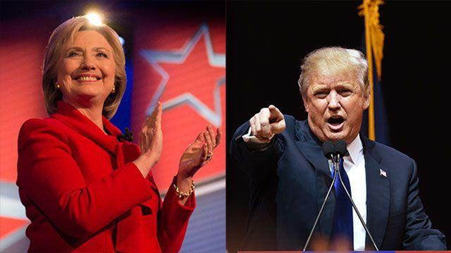 Clinton supera el 50% de intenciones de voto contra Trump, según encuesta