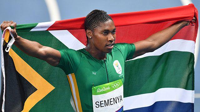 Ganó el Oro en 800 metros la mujer que fue acusada de ser hombre