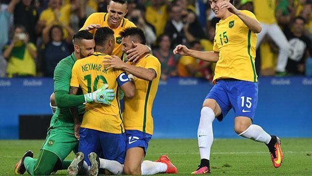 Lo hizo: Neymar cumplió y le dio el Oro que le faltaba a Brasil