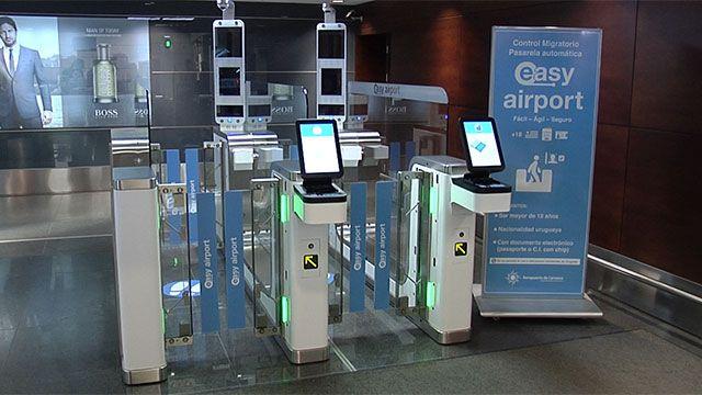 Así funciona la pasarela automática de ingreso en Aeropuerto de Carrasco