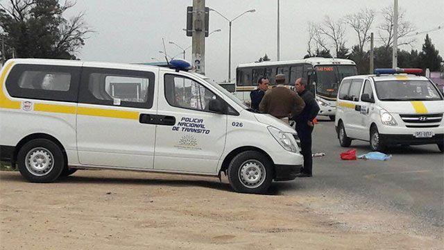 En libertad el chofer que arrolló a niña de 2 años en Barros Blancos