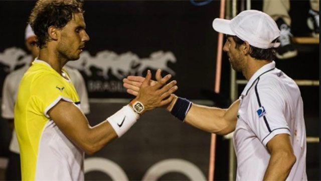 Pablo Cuevas enfrenta a Rafael Nadal por Masters 1000 de Cincinnnati