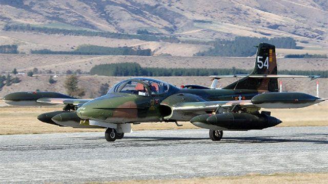De 18 aviones de combate del Estado uruguayo, sólo uno puede volar