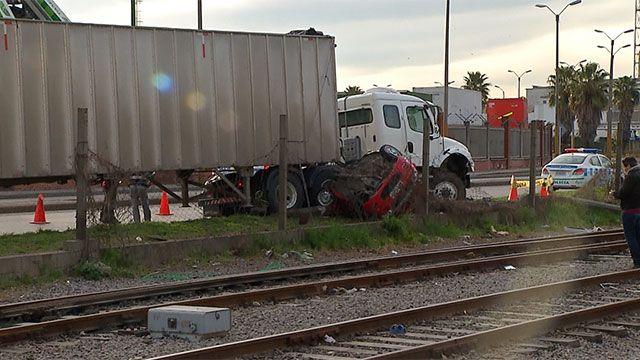 Camionero permanece detenido tras accidente fatal en la rambla