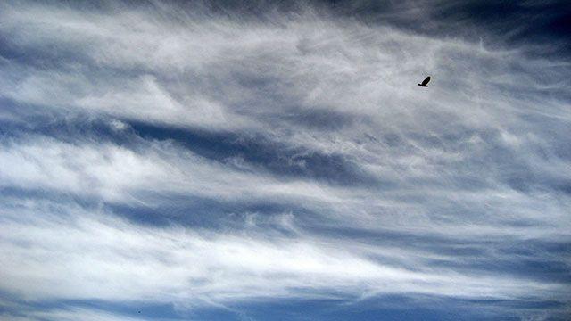 Domingo cálido, con el cielo nuboso y cubierto