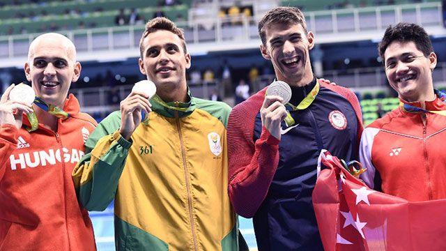 Phelps sigue agigantando su leyenda; conquistó su medalla número 27