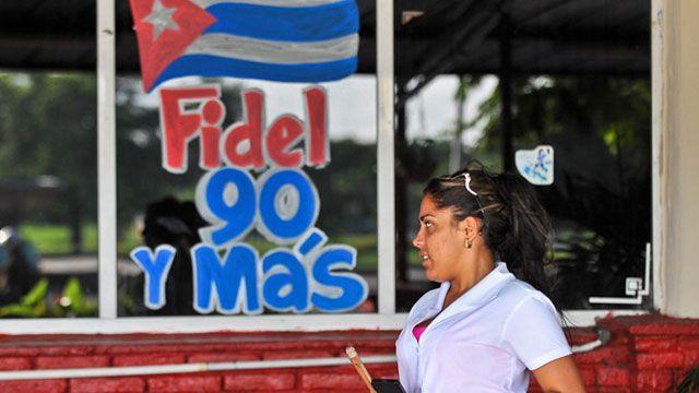 Fidel Castro cumple 90 años y evoca los tiempos de enemistad con EE.UU.