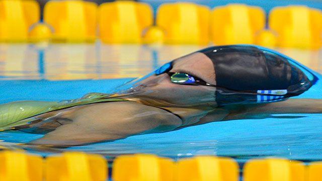 Nadadora Inés Remersaro ganó su serie y batió el récord nacional