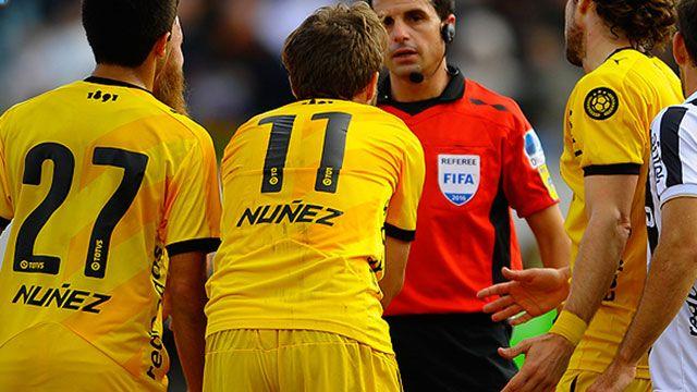 Habló Cunha, el árbitro cuestionado por errores cometidos contra Peñarol