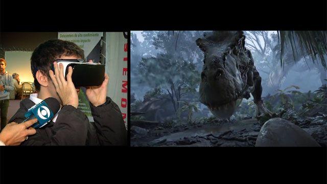 Caminar entre dinosaurios es posible en la Feria de Tecnología en el LATU