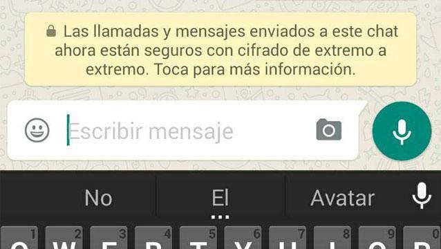 ¿Qué significa el cifrado que aparece en los mensajes de WhatsApp?