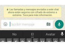"""¿Qué significa el """"cifrado"""" que aparece en los mensajes de WhatsApp?"""