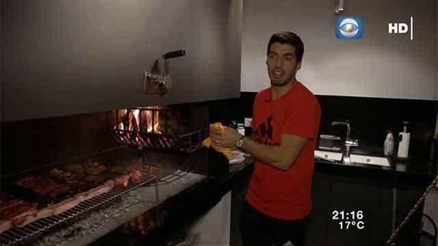 Luis Suárez en Por la camiseta: momentos imperdibles del programa de Canal 10