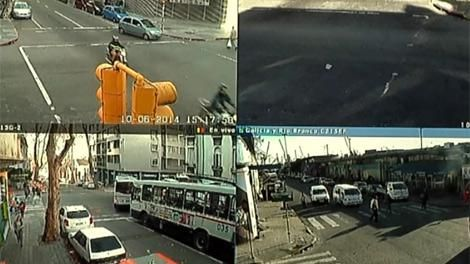 Intendencia comenzará a multar con 138 cámaras en el tránsito