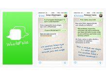 Para bromistas o mentirosos: una app permite simular charlas de Whatsapp