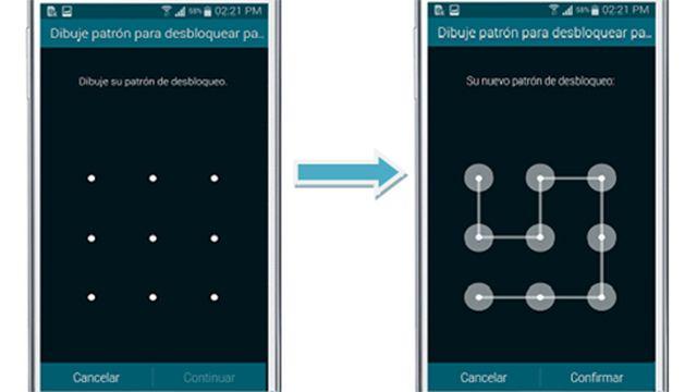 Recomiendan usar patrones de bloqueo más complejos para los celulares