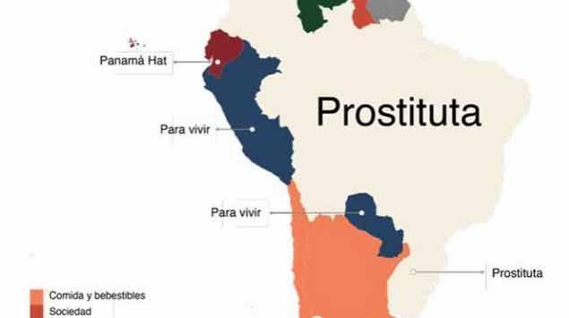 Prostitutas, la obsesión de uruguayos y brasileños en Google