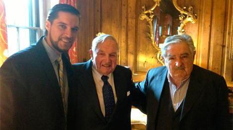 Magnate norteamericano Rockefeller de vacaciones en Uruguay