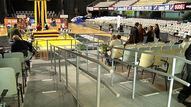Palacio Peñarol estrena accesibilidad con Copa Libertadores de Power Chair