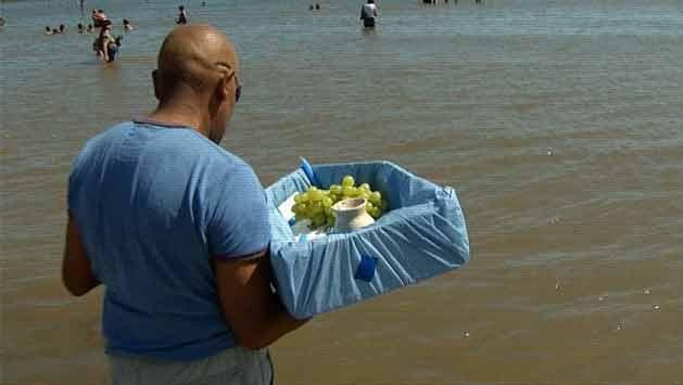 Así se vivió la fiesta de Iemanjá en la costa de Montevideo