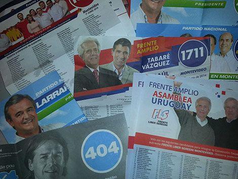 Resultado de imagen para uruguay listas elecciones