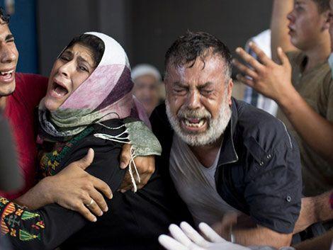 Cohete en campo de refugiados de Gaza mata 8 niños