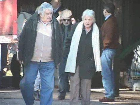 Mujica almorzó con ministros de SCJ; no hubo temas de actualidad
