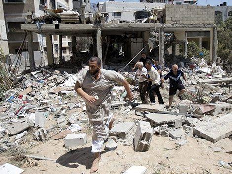Continúan ataques entre Hamas e Israel pese a anuncios de tregua