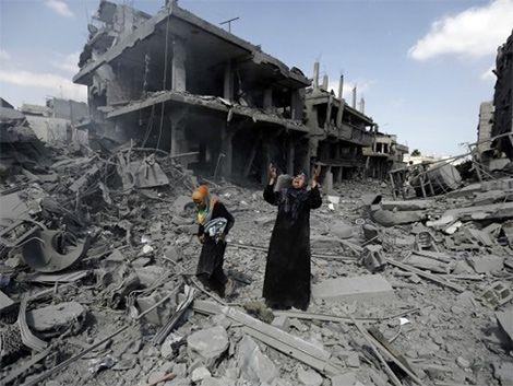 Hamas aceptó tregua humanitaria de 24 horas en la Franja de Gaza