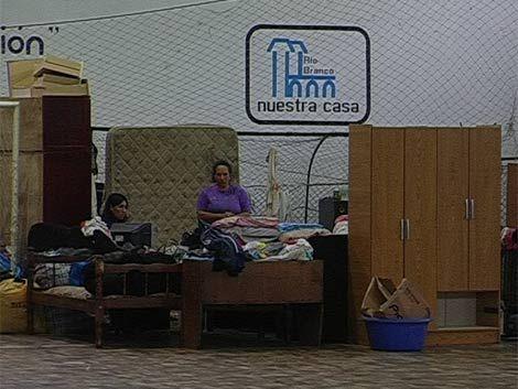 286 personas continúan desplazadas por las inundaciones