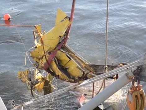 """Avión Air Class cayó al río por volar con """"indicaciones erróneas"""""""