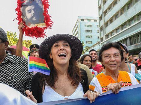 Mariela Castro no viajaba en el avión: Estoy vivita y coleando