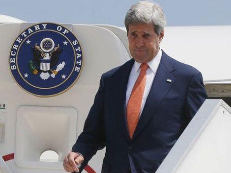 Kerry se reúne con Israel y con Hamas en busca de una tregua