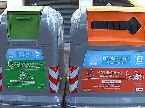 Contenedores serán modificados porque la basura queda afuera