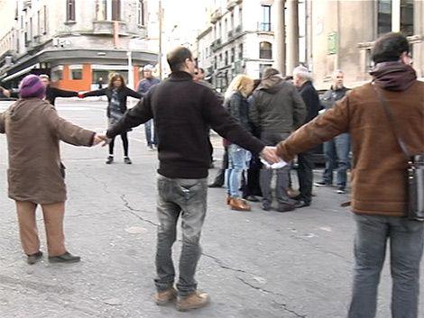 """""""Rueda rueda"""" para alejar a la prensa de dirigentes sindicales"""