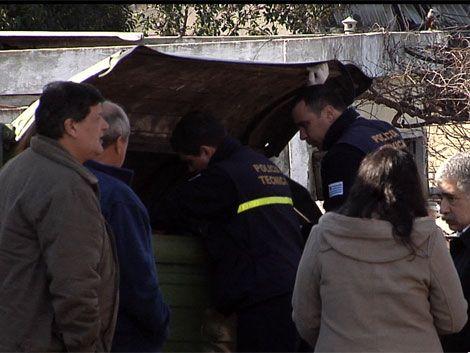 Encontraron el cuerpo de un bebé sin vida en un contenedor