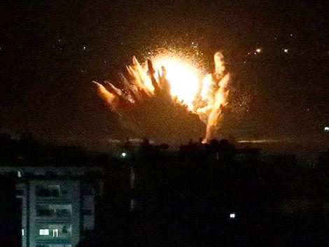 Israel inició una ofensiva terrestre sobre la Franja de Gaza